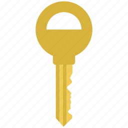 door, key, lock, locked, safety, secure, sign icon