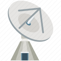 antenna, communication, dish, dish antenna, satellite, satellite dish, wireless icon