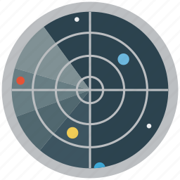 astrology, astronomy, focus, orbit, planets, solar system, target icon