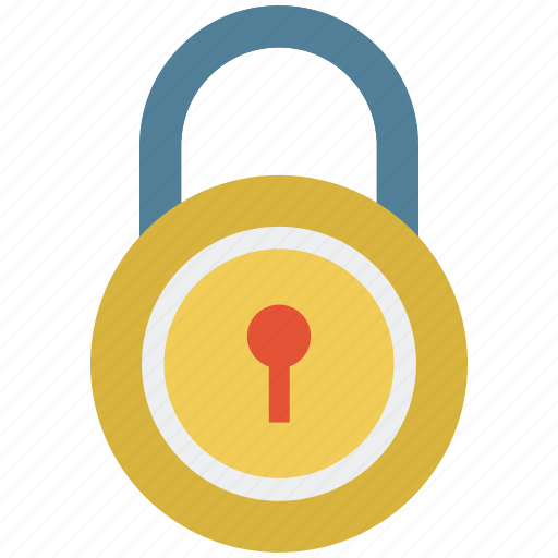 lock, locked, padlock, safe, secure, security icon