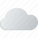 overcast, cloudy, cloud icon