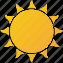 shine, sun, sunny