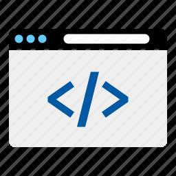 dev, developer, internet, web icon
