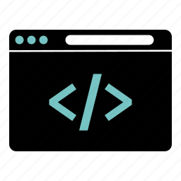 code, dev, developer, programming, web icon