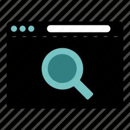 internet, search, web, website icon