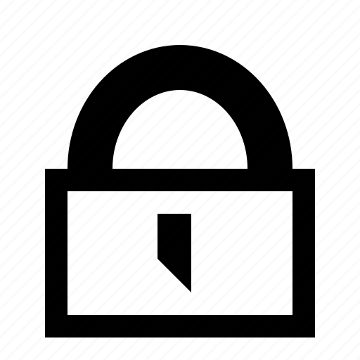 access, lock, locked, protection, secure, security icon