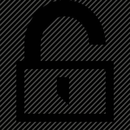 access, lock, open lock, securty, unlock, unlocked icon