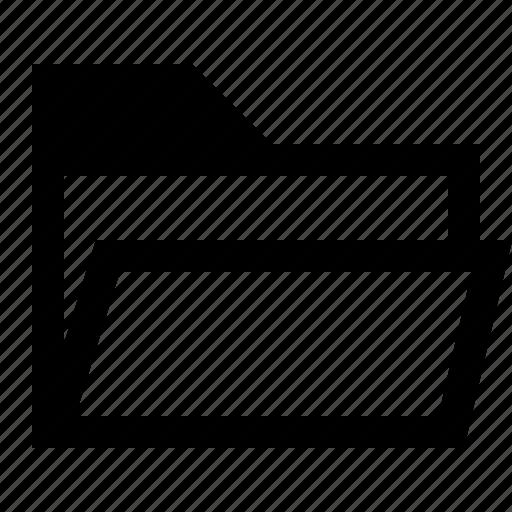 directory, folder, group, open folder icon