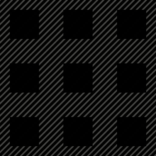 grid, layout, matrix icon