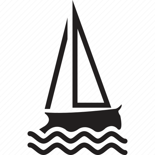 ship, travel icon