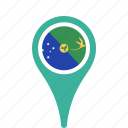 christmas, county, flag, island, map, national, pin icon