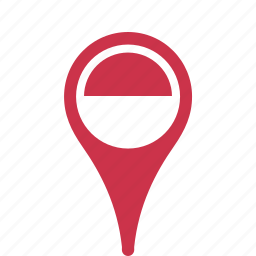 country, county, flag, indonesia, map, national, pin icon