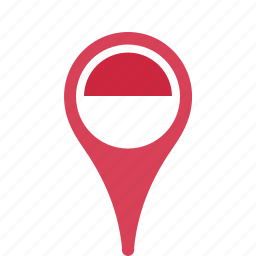 country, county, flag, map, monaco, national, pin icon
