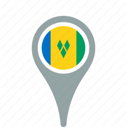 and, country, county, flag, map, miquelon, national, pierre, pin, saint icon