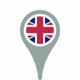 country, county, england, map, national, pin, the, uk, united icon