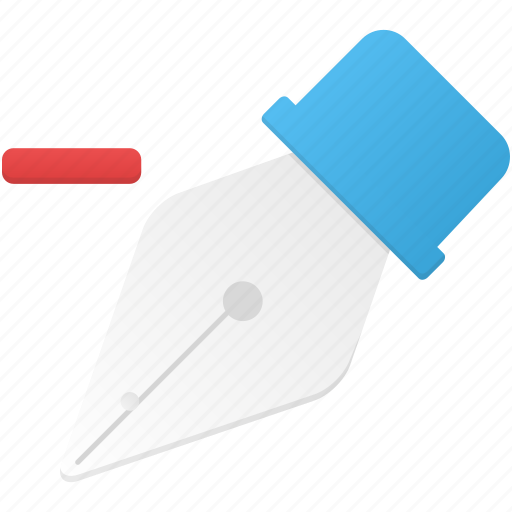 anchor, delete, draw, edit, point, remove, tool icon