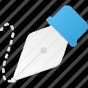 design, draw, edit, freeform, pen tool icon
