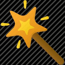 magic, tool, tools, wand icon