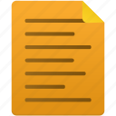 document, documents, file, files, note, paper, text icon