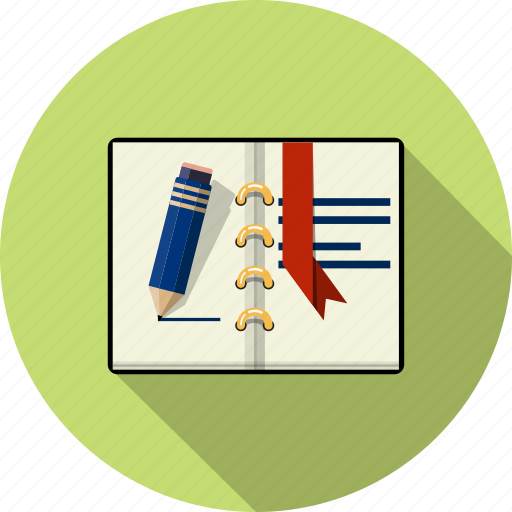 agenda, book, files, open, page, paper, text icon