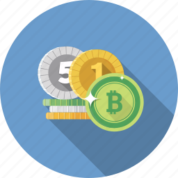 bitcoin, cash, coin, curency, currency, dollar, money icon