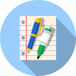 blank, document, documents, file, marker, page, pencil icon