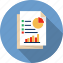 report, infographic, finance, graph, financial, business, chart icon