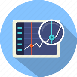 business, chart, diagram, finance, graphics, progress, statistics icon