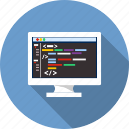 code editor, development, html, javascript, meta, network, xml icon