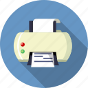 file, ink, jet, laser, paper, press, printer icon