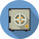 banking, combination, deposit, money, safe, safety, security icon