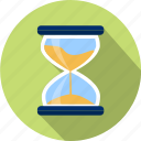 clock, event, hour, measurement, sandglass, schedule, time icon