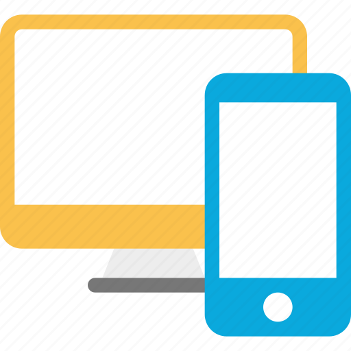 action, computer, design, phone, responsive icon