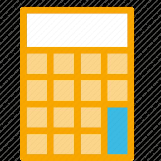 action, calc, calculator, math, school icon