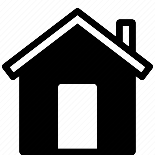 action, building, home, house, residence icon