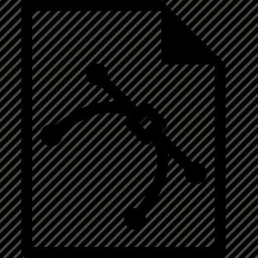 action, editable, file, illustrator, vector icon