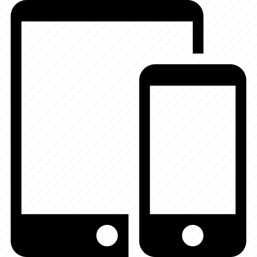 action, device, mobiles, phone, tablet icon