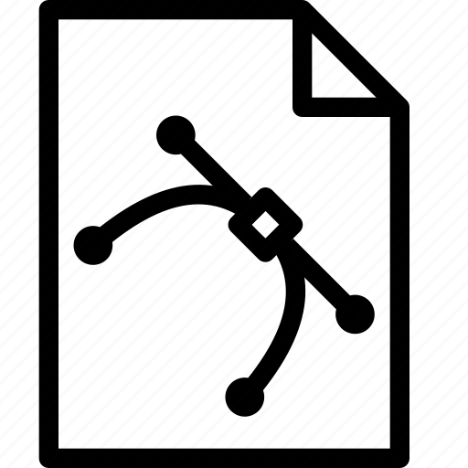 Editable, file, illustrator, vector icon - Download on Iconfinder