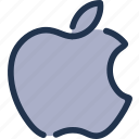 apple, device, ios, mobile, operating, software, system icon