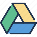cloud, data, document, drive, google, storage icon