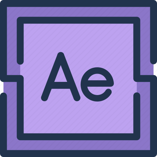 adobe, after, design, effects, fx, video icon