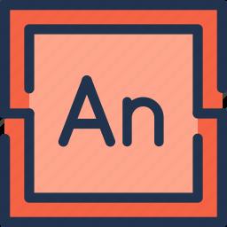 adobe, animate, animation, art, design, flash icon