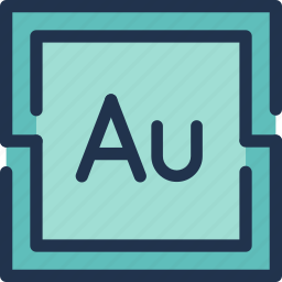 adobe, audition, design, program, tool icon