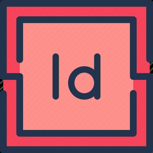 adobe, art, design, editorial, graphic, indesign icon