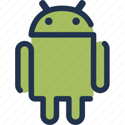 android, device, mobile, operating, software, system icon