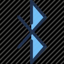 bluetooth, connection, data, storage, transfer, wireless icon