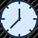 alarm, app, clock, schedule, time, timetable icon