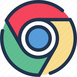 browser, chrome, google, internet, web, www icon