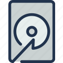 computer, data, disk, drive, hard, server, storage icon