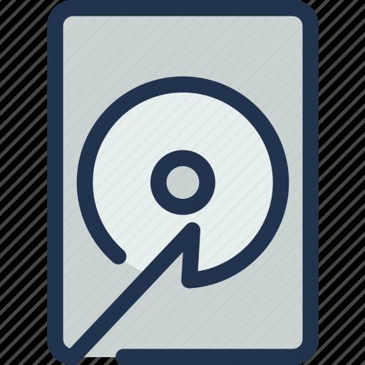 computer, data, disk, drive, hard, server, storage icon